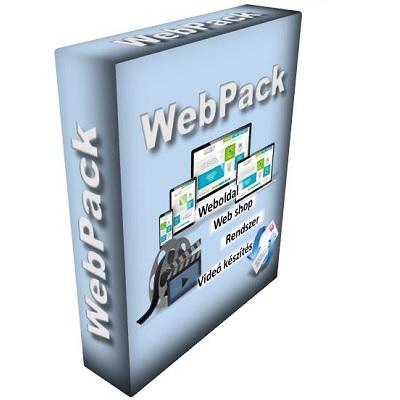 WebPack - Kulcsrakész weboldal rendszer